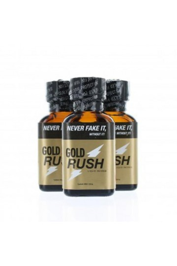 Poppers Gold Rush 24ml x3