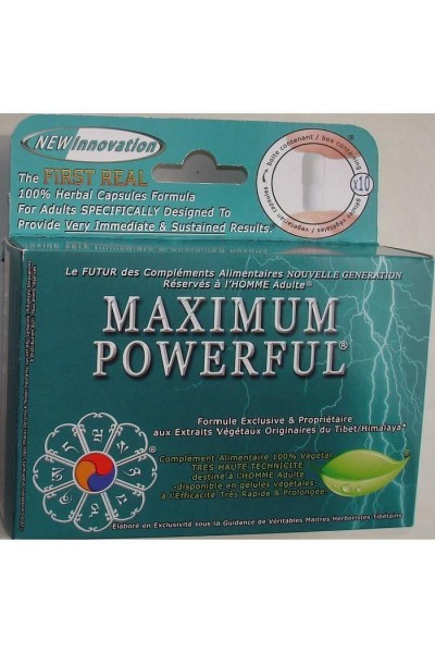 Maximum Powerful is a food complement and a sexual stimulant