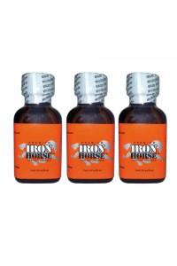 Poppers Iron horse 24 ml par 3 flacon