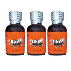 Poppers Iron horse 24 ml by 3 bottles