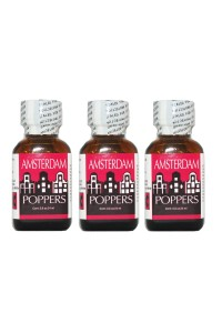 Poppers Amsterdam 24 ml par 3 flacon