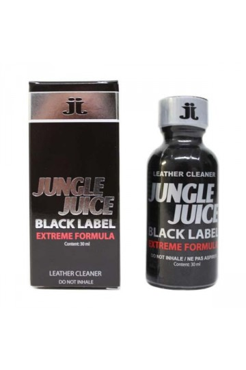 Poppers Jungle Juice Platinum Black label leather cleaner 30 ml