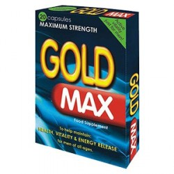 Gold Max for man by 20